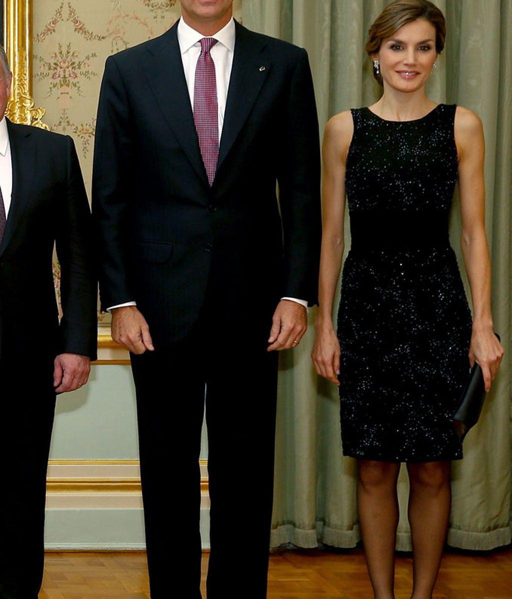 Letizia repite un vestido de hace 7 años