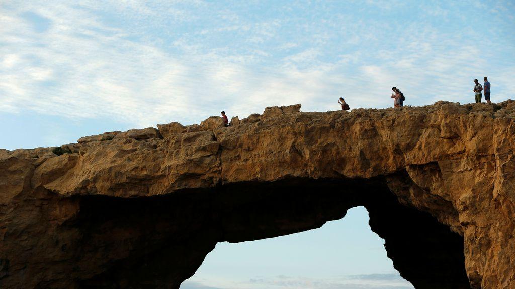 Uno de los tesoros naturales, en la isla de Gozo