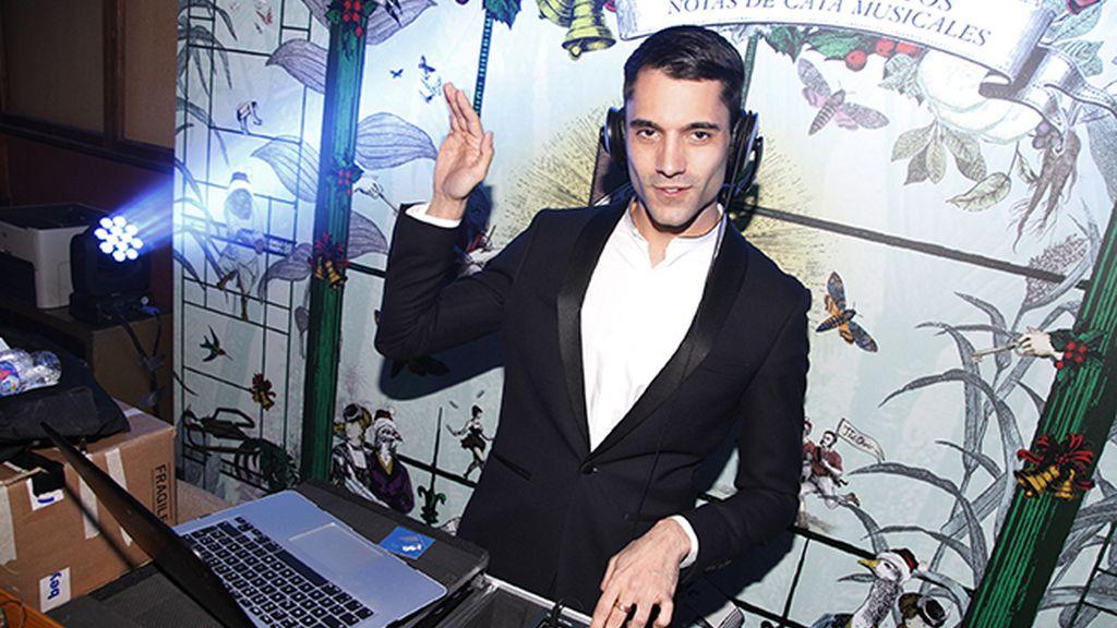Marco Llorente fue el DJ de la fiesta