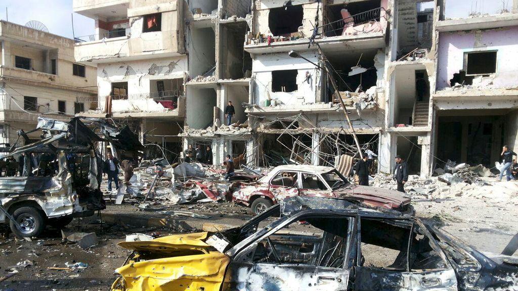 Atentado en Homs