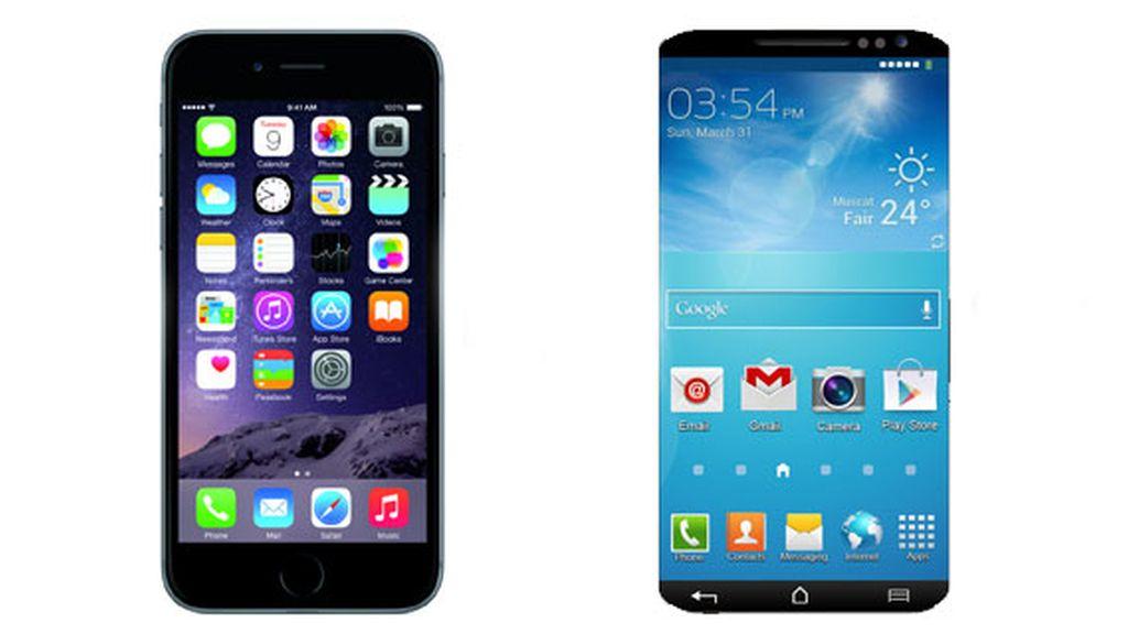 iPhone 6, Samsung galaxy S6