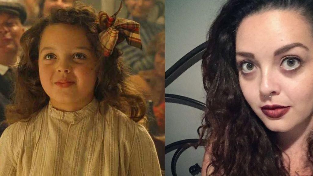 Alexandrea Owens, la pequeña que bailó con DiCaprio en la película 'Titanic'