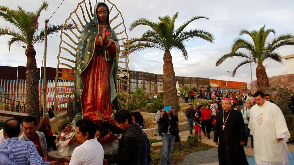 La virgen de Guadalupe, la madre de todos los mexicanos