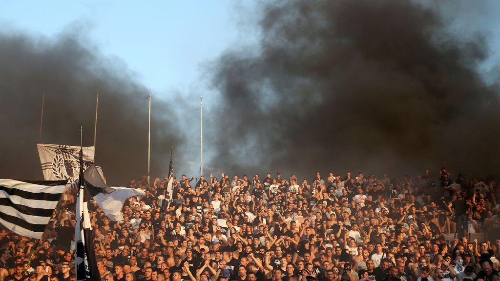 Pasión desmedida por el fútbol en Belgrado