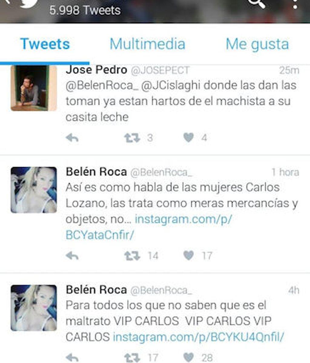 Twitter Belén