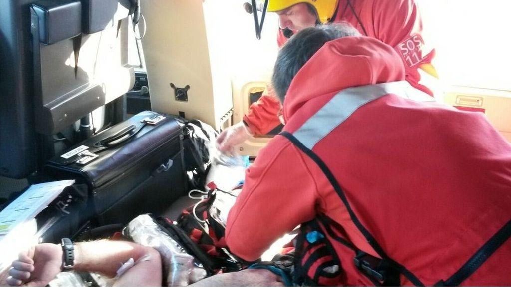 Rescatados tres escaladores heridos en Picos de Europa