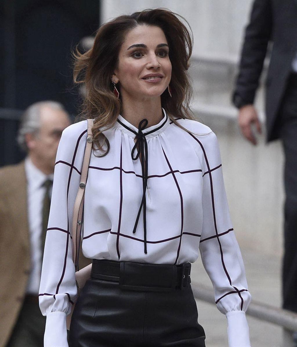 Rania estilo 'working girl'