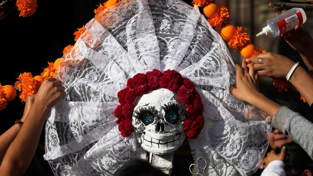 Festividad de los muertos en México