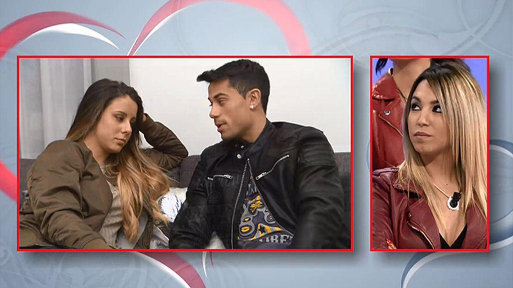"""Diego, a Gisela: """"Eres la favorita de mi padre y mi amigo es tu fan"""""""