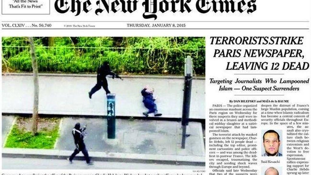 Los principales medios de EEUU no publican las viñetas de Mahoma del Charlie Hebdo