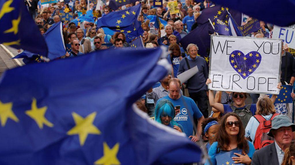 Marcha por Europa, brexit