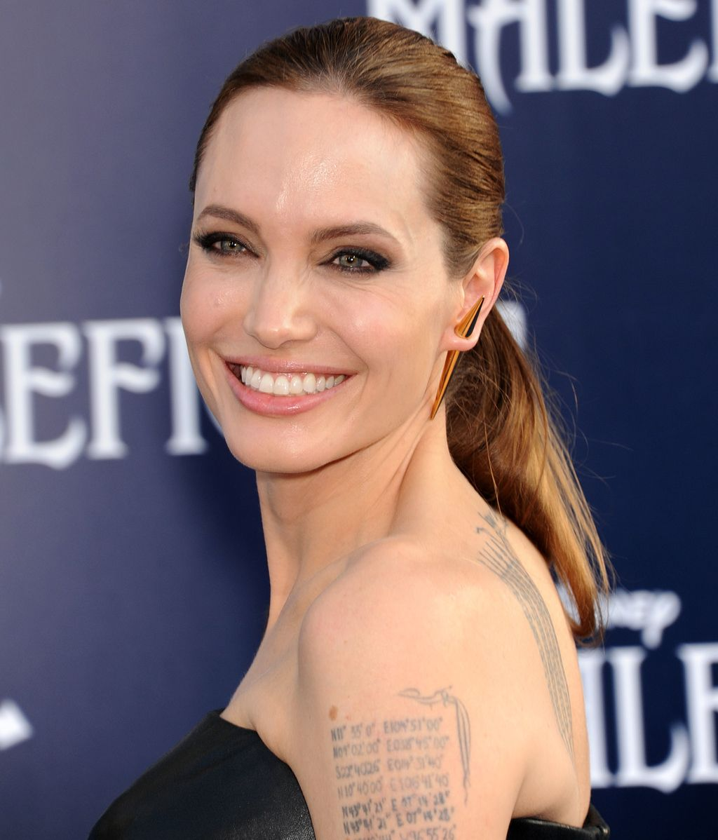 Angelina Jolie, exultante en la 'premiere' de su último estreno