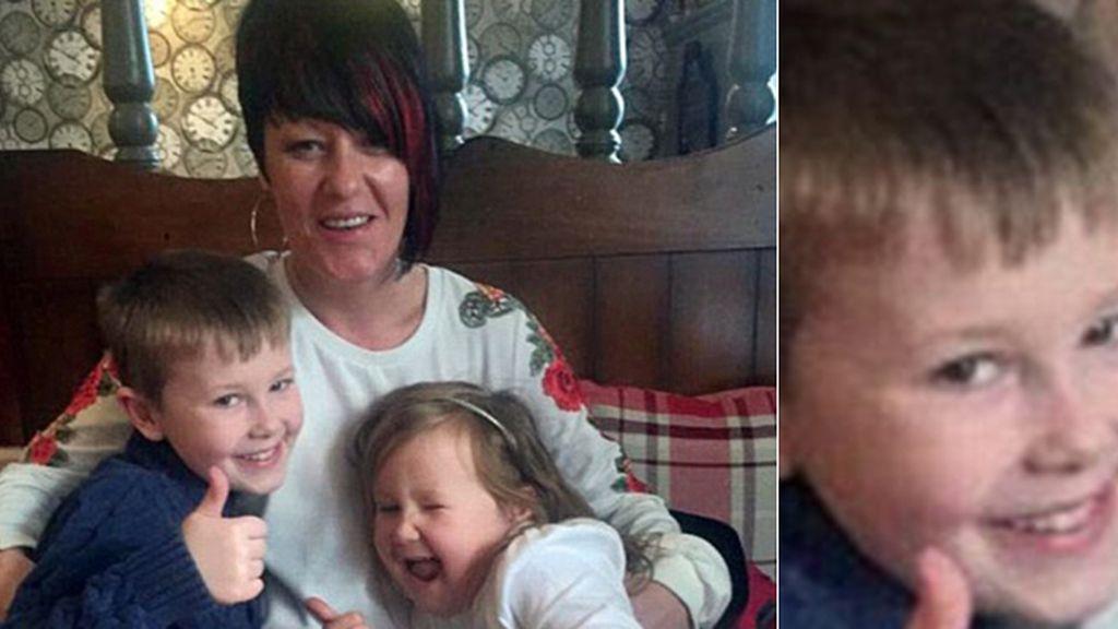 Un niño de ocho años encuentra a su madre muerta