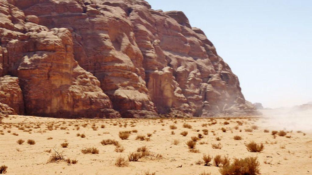 desierto, zona desértica