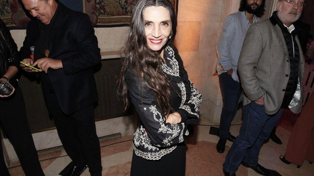 Ángela Molina fue elegida mujer Icon 2016