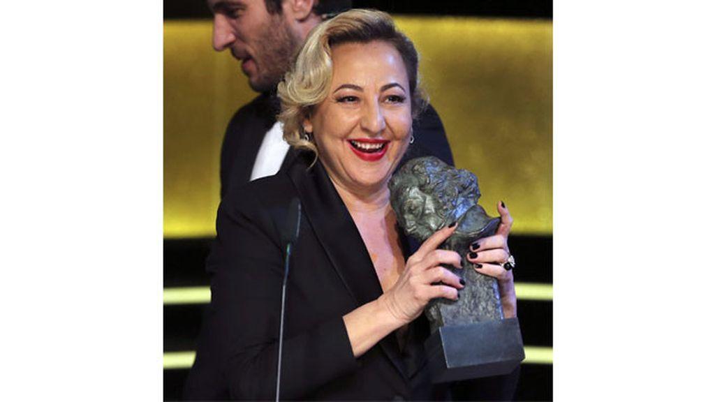 Carmen Machi, Goya a la Mejor Interpretación Femenina de Reparto por 'Ocho apelllidos vascos'