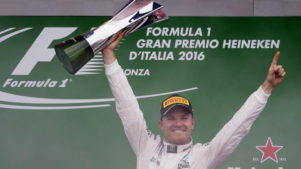 Nico Rosberg gana en Monza 2016