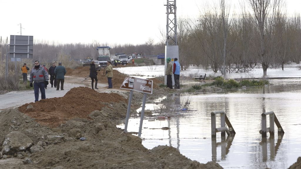 Desalojo preventivo en Pradilla de Ebro y Boquiñeni por la crecida del Ebro