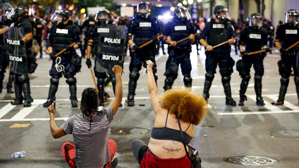 Protestas raciales en Charlotte