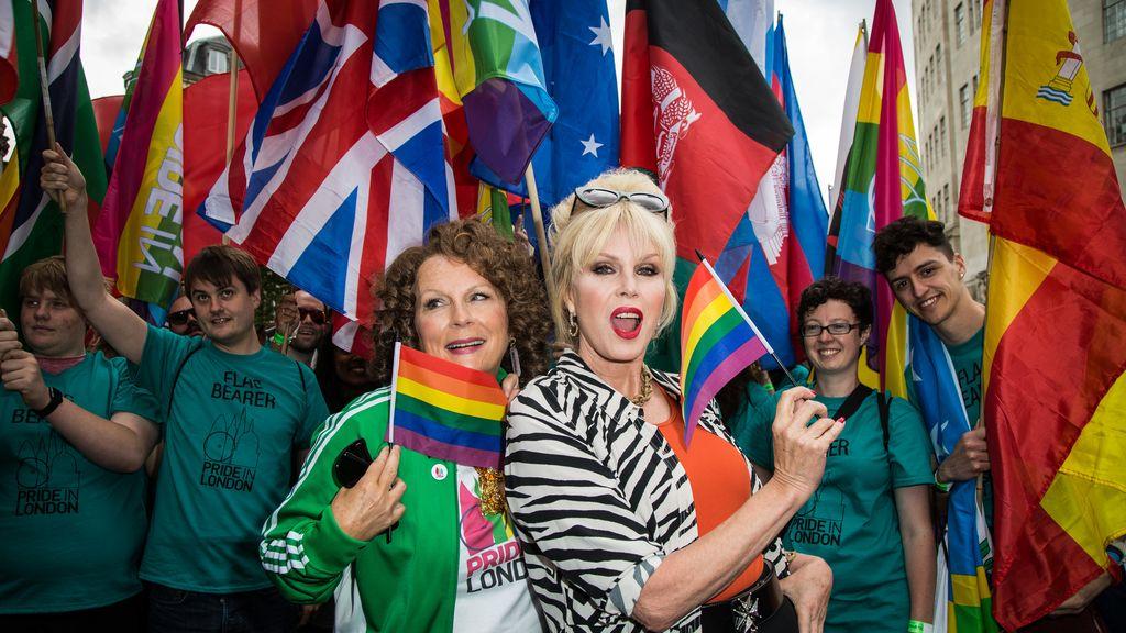 Londres celebra el día del orgullo gay