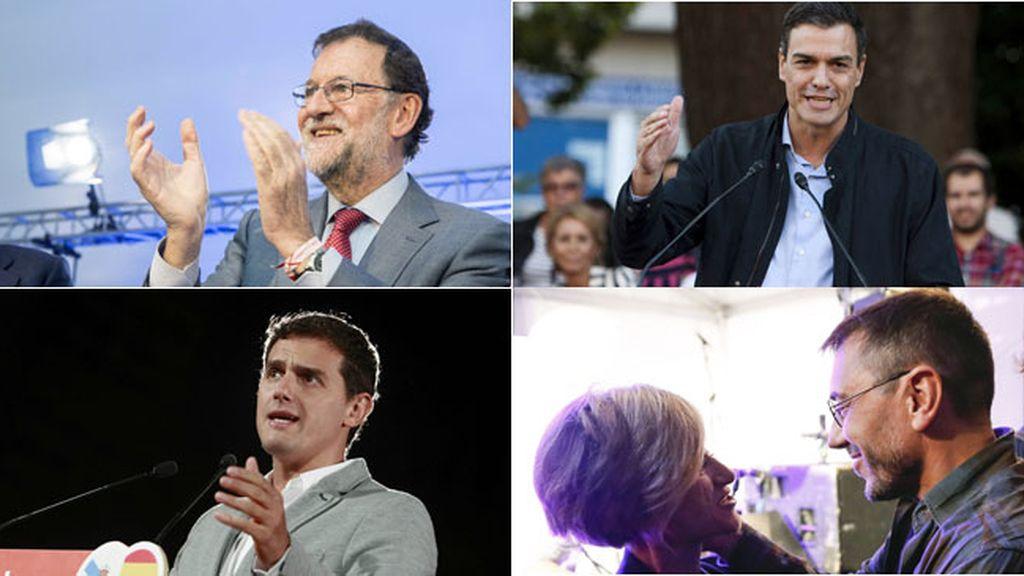 Finaliza la campaña electoral de Galicia y País Vasco