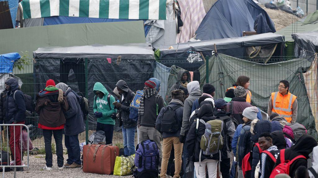 Desalojo Calais