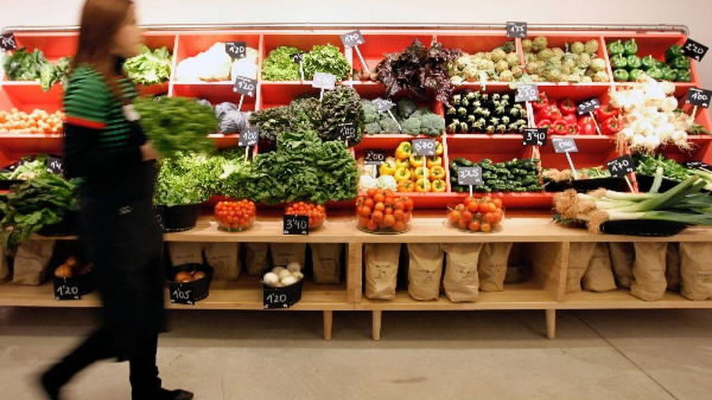 El IPC sube por el precio de las frutas y legumbres