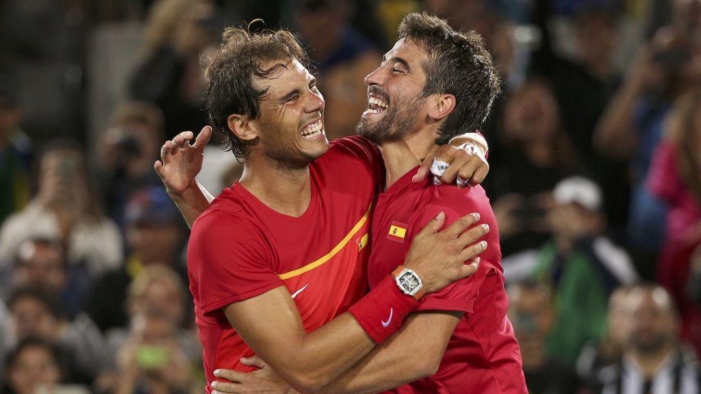 La pareja española venció en la final a Rumanía