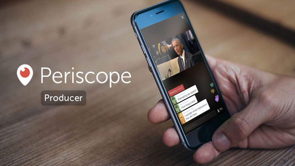 'Periscope Producer', de Twitter
