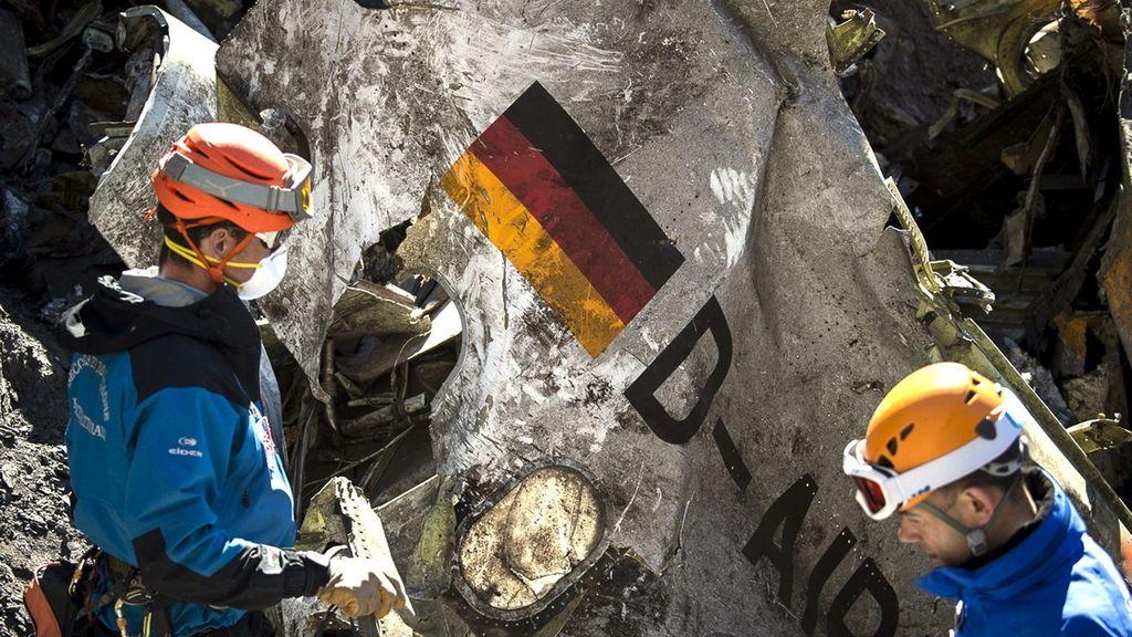 Hallada la segunda caja negra del avión de Germanwings