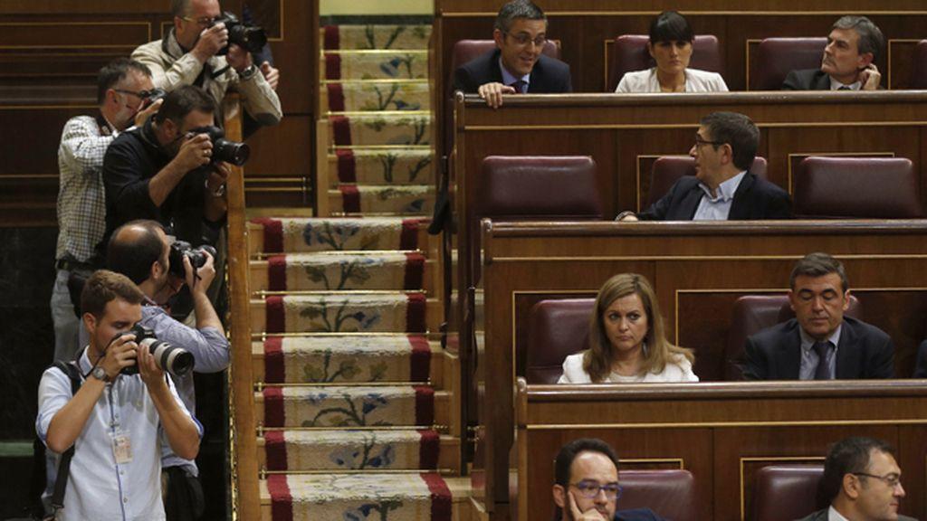 Nueva distribución de escaños en la bancada socialista en el Congreso de los Diputados