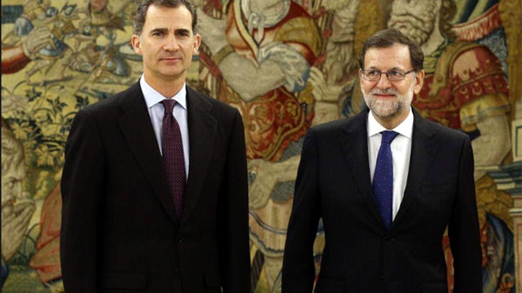 rey España,Felipe VI,Mariano Rajoy,reunión semanal rey