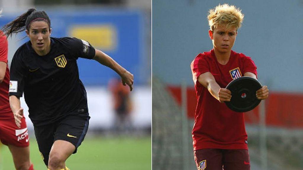 Silvia Meseguer y Amanda Sampedro son centrocampistas