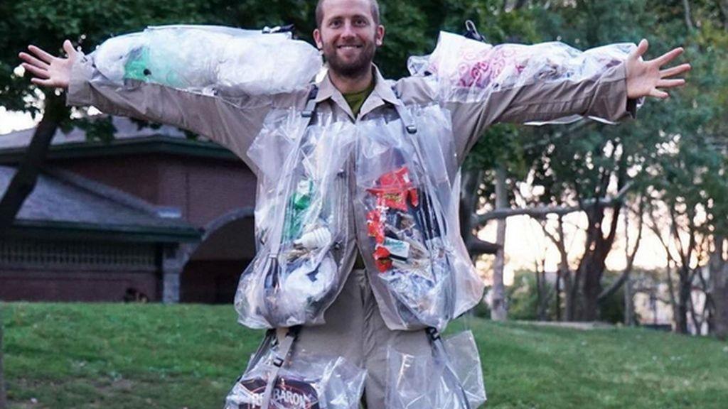 El hombre basura
