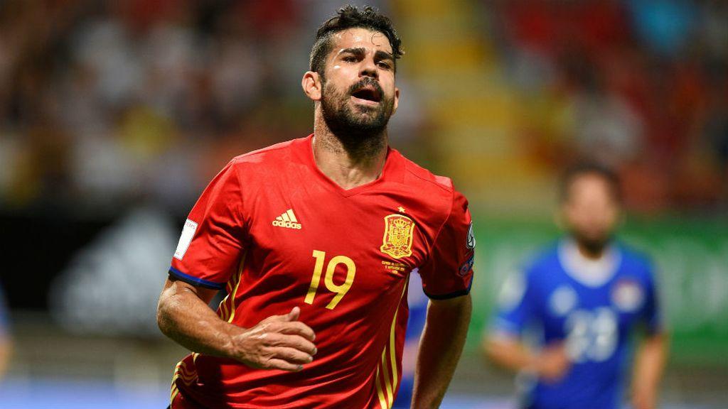 Diego Costa vuelve a marcar con la Selección (06/09/2016)