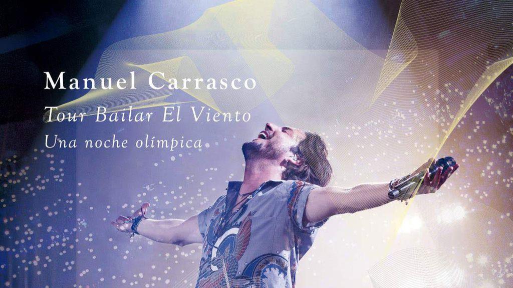 Manuel Carrasco CD DVD concierto Sevilla, Una Noche Mágica Tour Bailar El Viento
