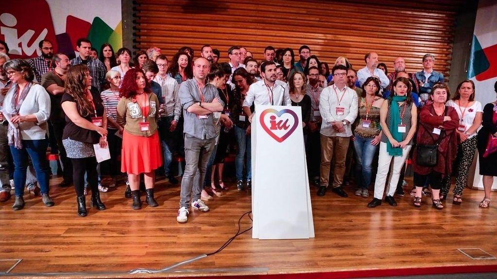 Alberto Garzón líder de Izquierda Unida en la Asamblea