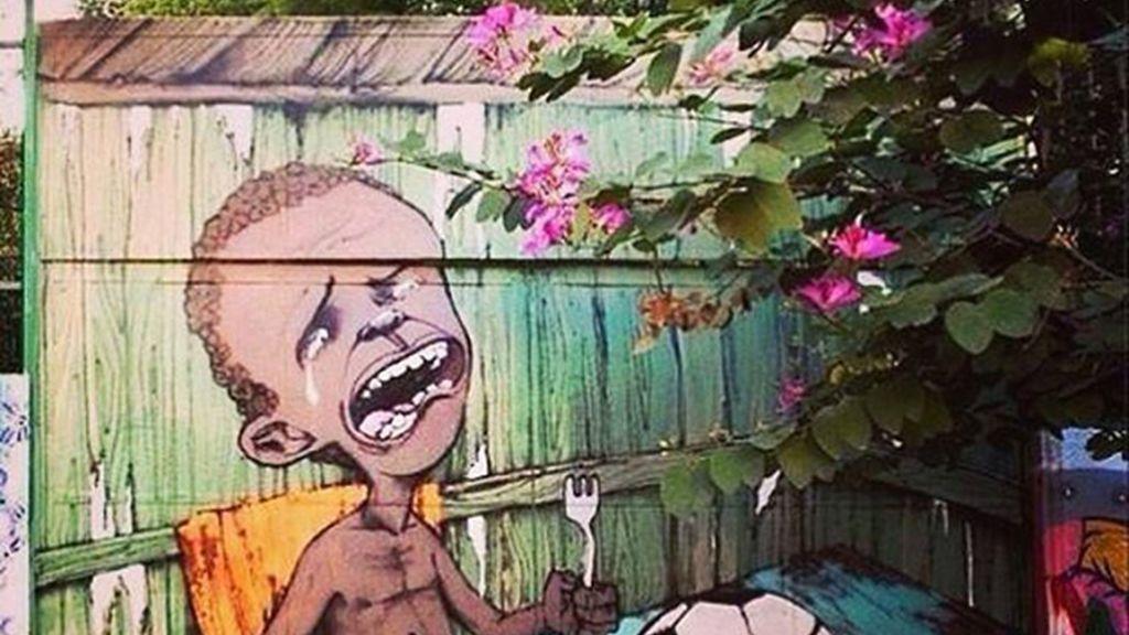 Primera imagen viral del Mundial de Brasil