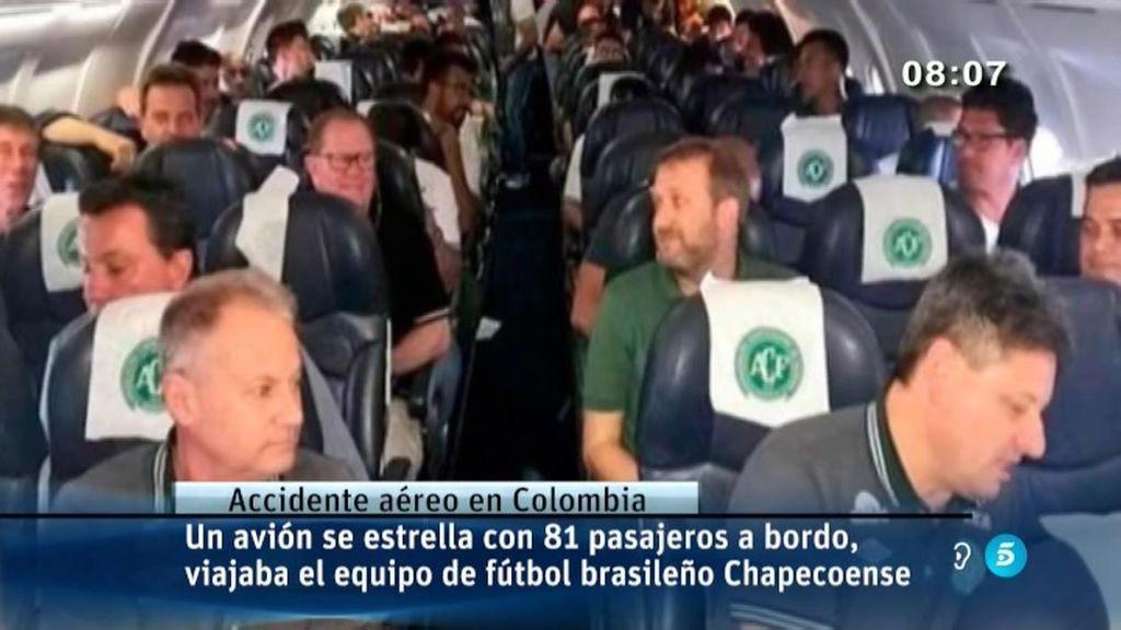 Chapecoense,Colombia,Accidente Aereo