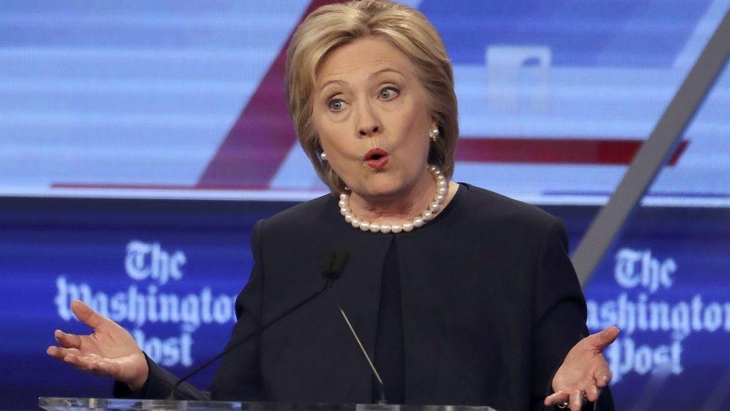 """Hillary Clinton: """"La violencia no tiene lugar en la política en Estados Unidos"""""""