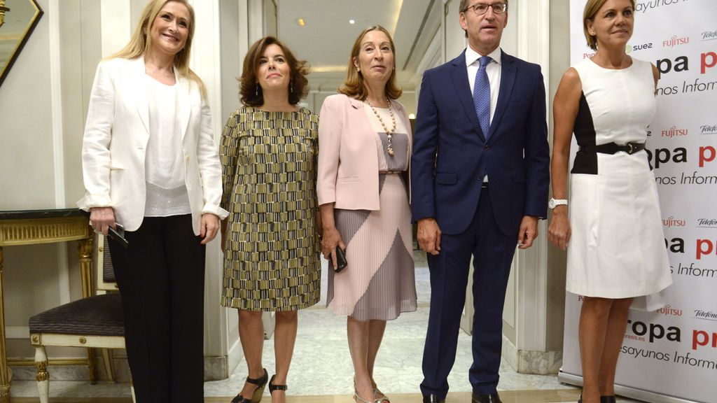 El PP respalda al candidato Feijóo