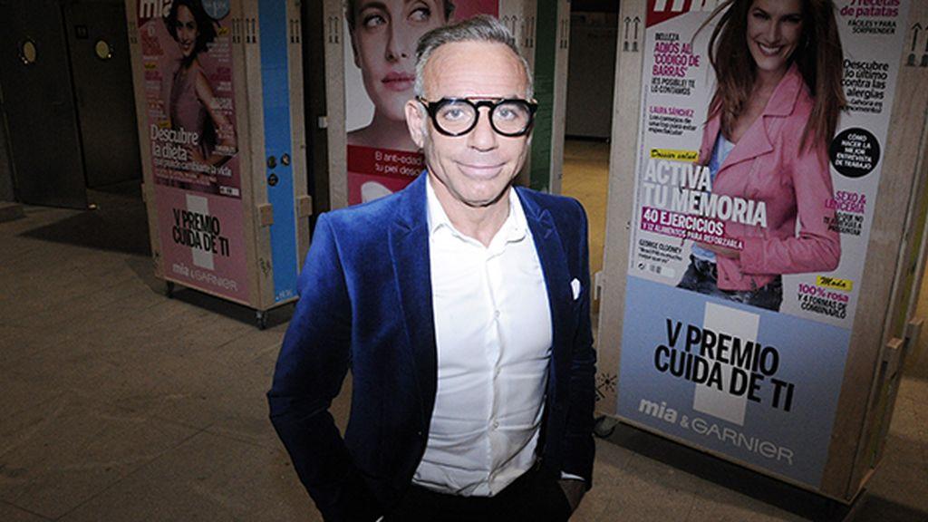 El arquitecto Joaquín Torres durante el cóctel posterior a la entrega de los Premios Cuida de ti