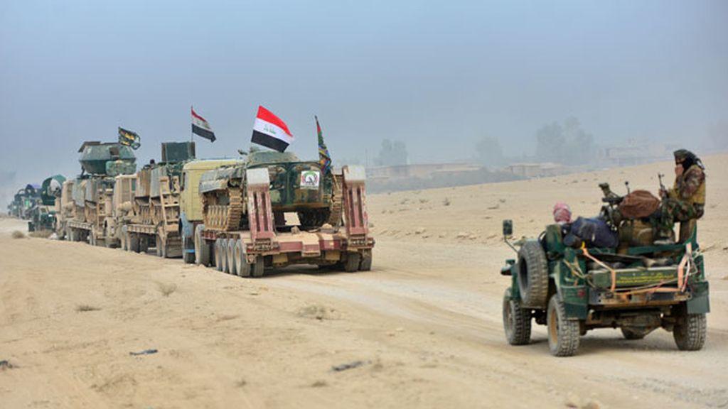 Las tropas iraquíes entran por primera vez en Mosul