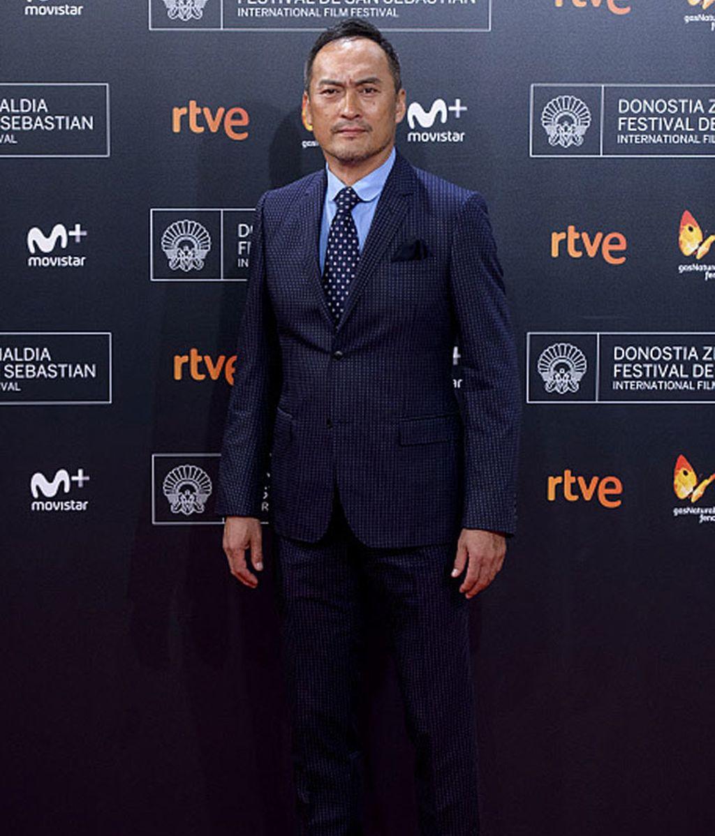 Ken Watanabe, el actor japonés, ha asistido al festival de San Sebastián