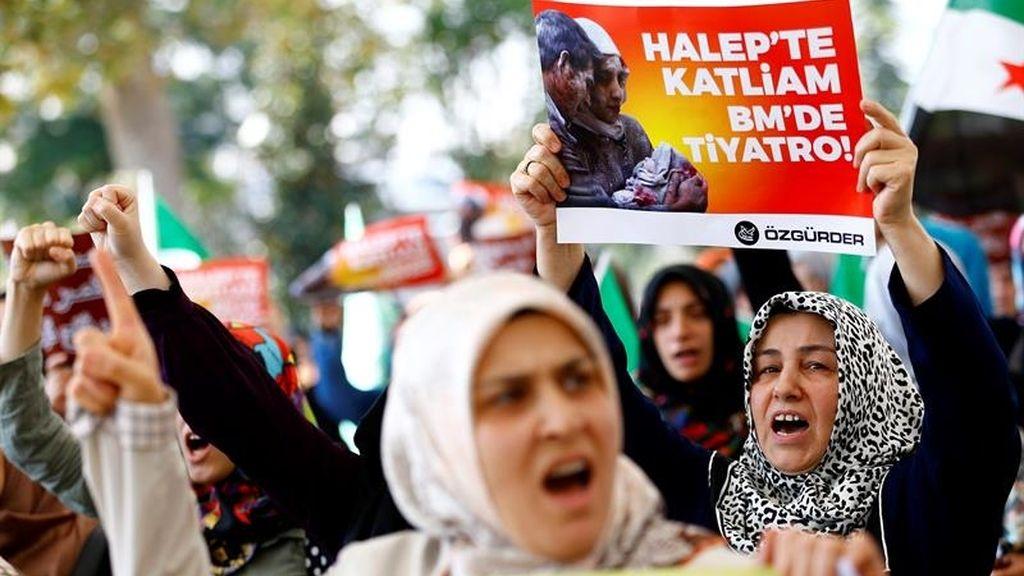 Mujer Alepo