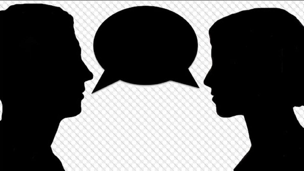 conversación, discusion,