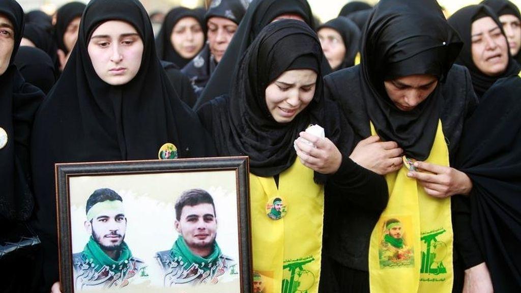 Funeral de Hezbolá Mohamad al-Shami