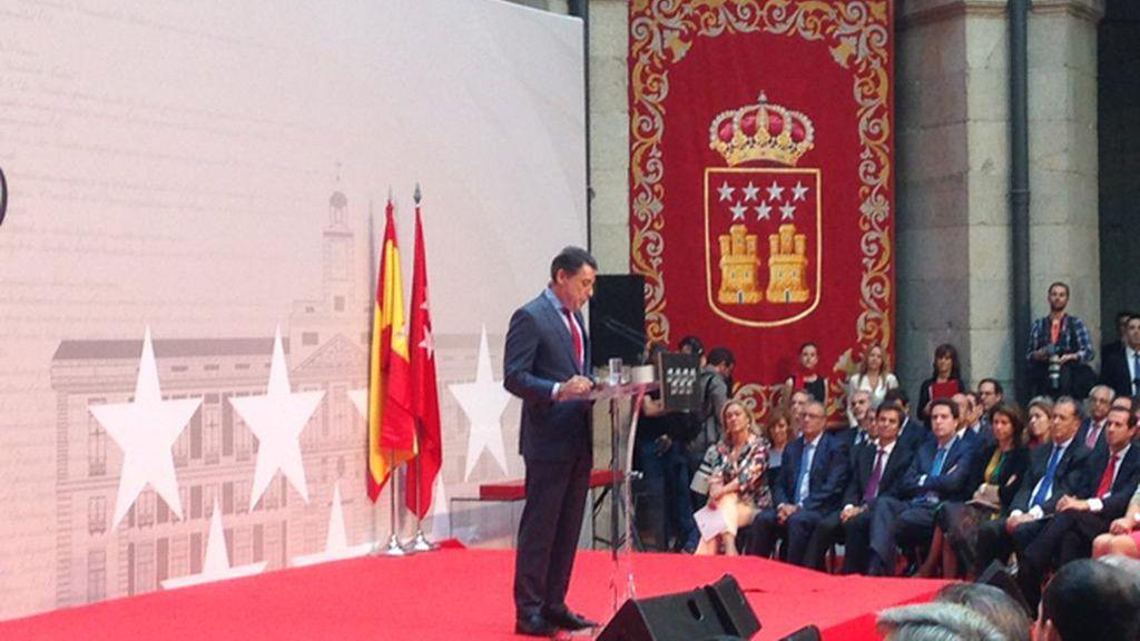 Ignacio González en el Día de la Comunidad de Madrid