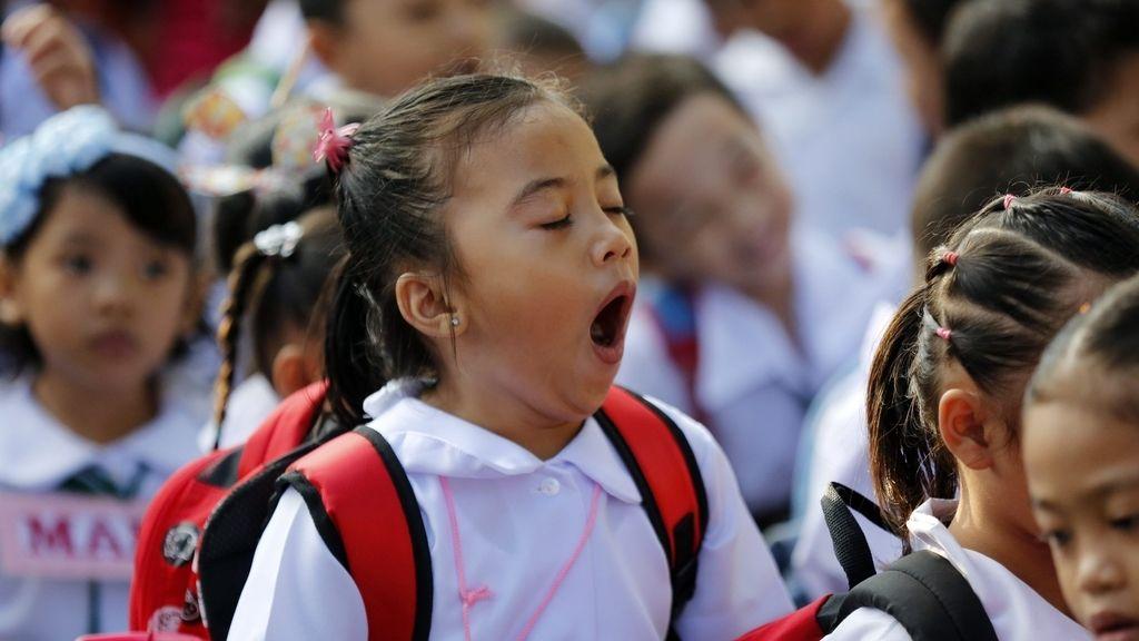 25 millones de estudiantes Filipinos vuelven al colegio