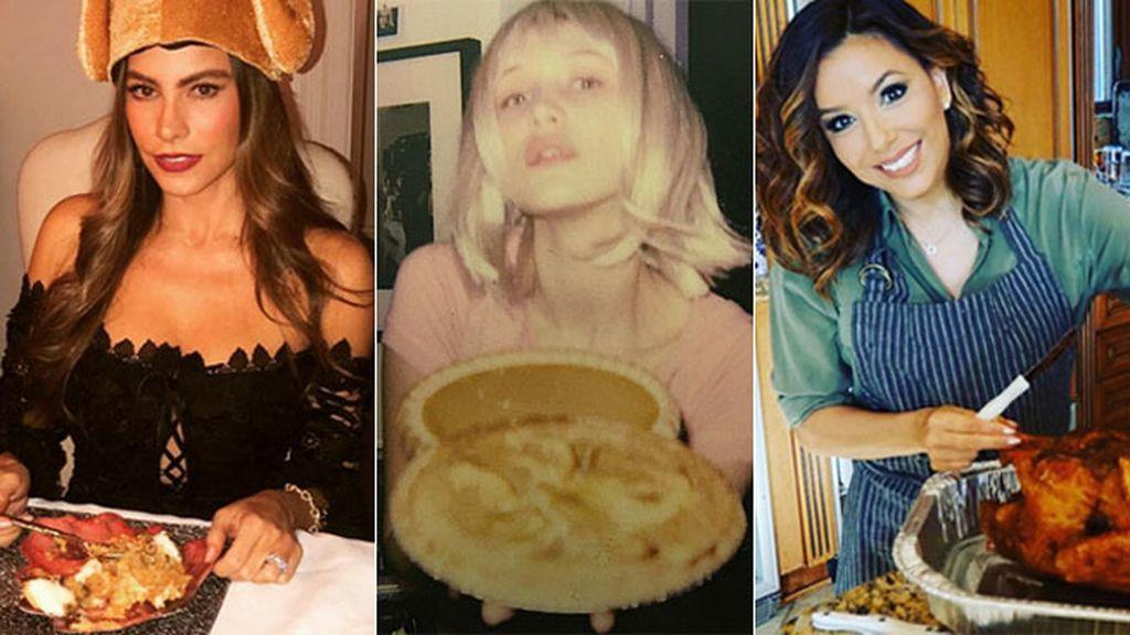 Las celebridades 'made in USA' se han reunido con sus familiares y amigos